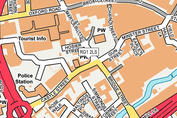 RG1 2LS map - OS OpenMap – Local (Ordnance Survey)