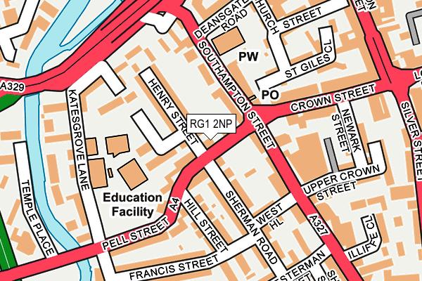 RG1 2NP map - OS OpenMap – Local (Ordnance Survey)
