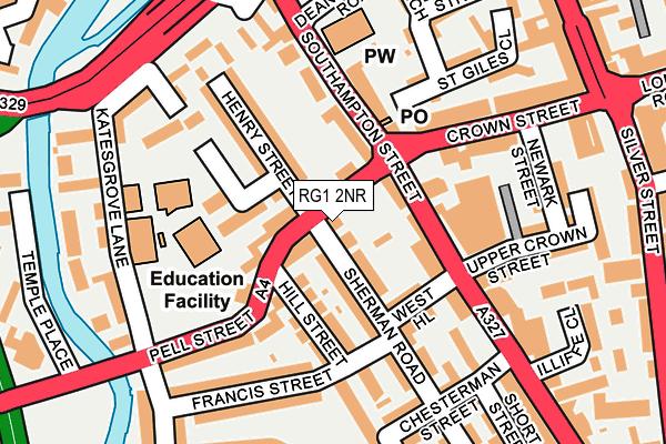 RG1 2NR map - OS OpenMap – Local (Ordnance Survey)