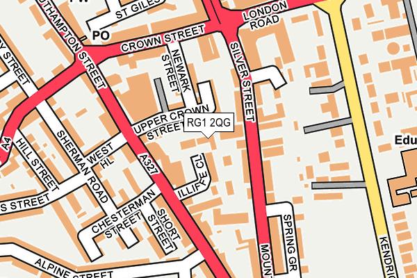 RG1 2QG map - OS OpenMap – Local (Ordnance Survey)