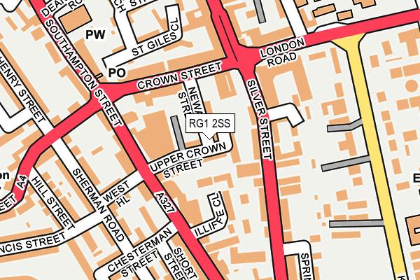 RG1 2SS map - OS OpenMap – Local (Ordnance Survey)