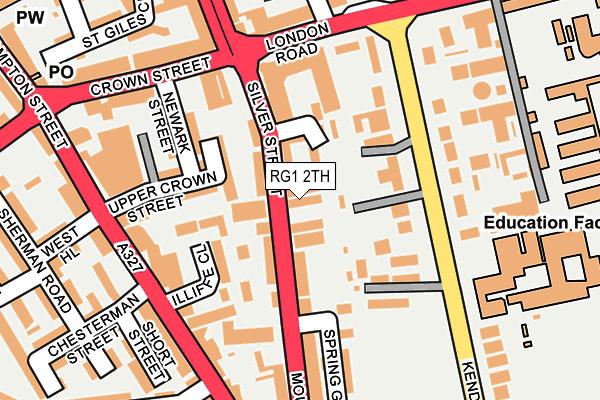 RG1 2TH map - OS OpenMap – Local (Ordnance Survey)