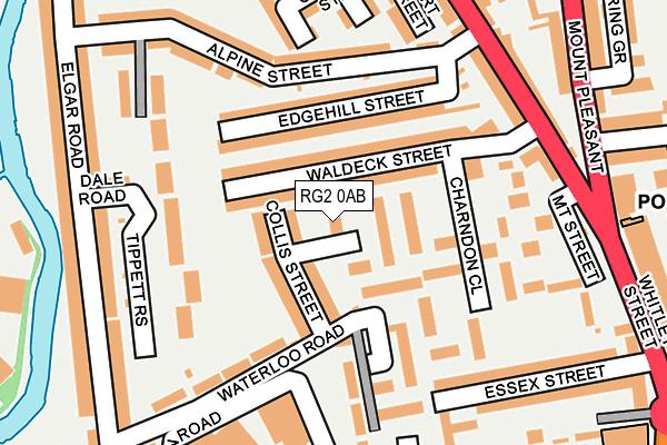 RG2 0AB map - OS OpenMap – Local (Ordnance Survey)