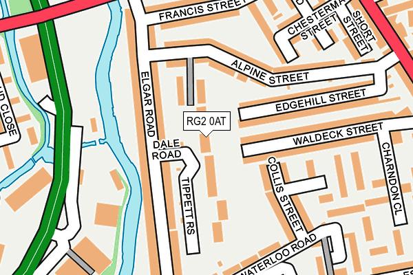 RG2 0AT map - OS OpenMap – Local (Ordnance Survey)