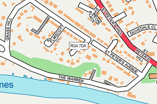 Map of ROYLE BERKSHIRE DEVELOPMENTS LIMITED at local scale