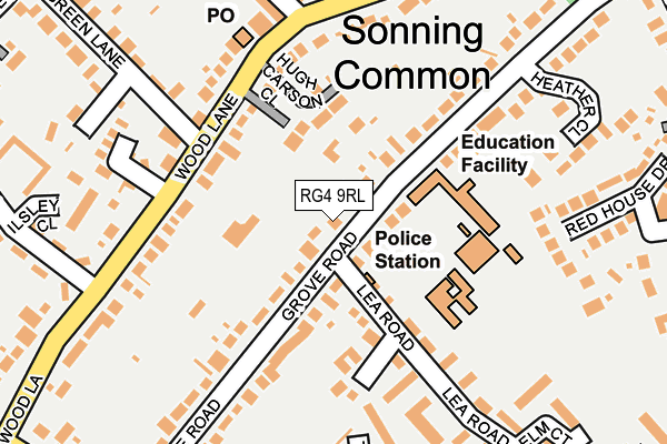 Map of HOUSE IN THE SUN LLP at local scale