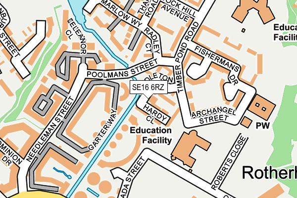 Map of BEE TREE PUBLISHING LTD at local scale