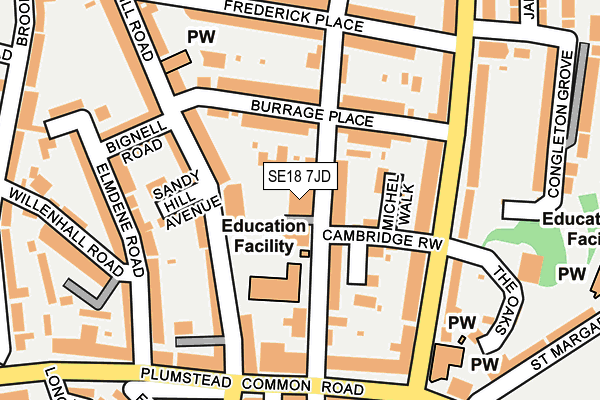 Map of COMMERCIAL PROJECT & TRADE, LTD at local scale