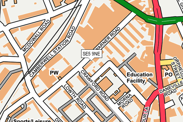 Map of JOZEF BARTOVIC PROPERTY MANAGEMENT LTD at local scale