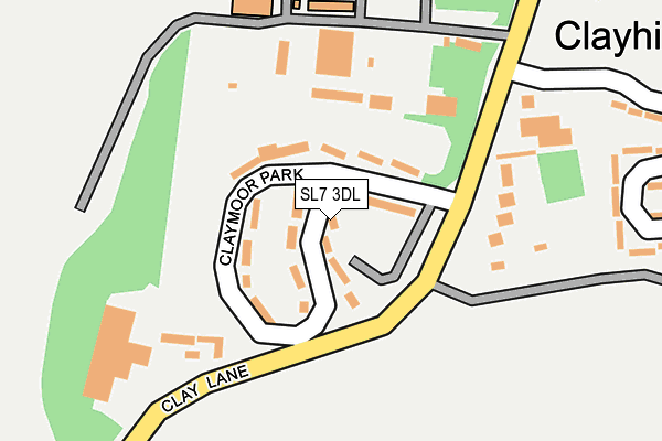 Map of FLASH DRIVE SCHOOL OF MOTORING LTD at local scale