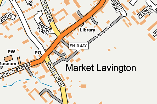 Map of CHRIS FLOWER  PLASTERING LIMITED at local scale