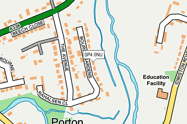 Map of BOURNE VALLEY ELECTRICAL SERVICES LIMITED at local scale