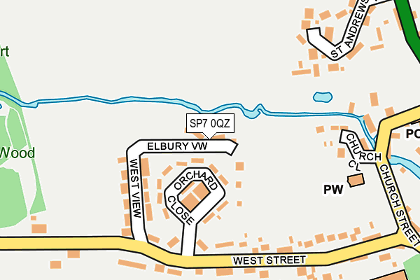 Map of CAF CONSTRUCTION LTD at local scale
