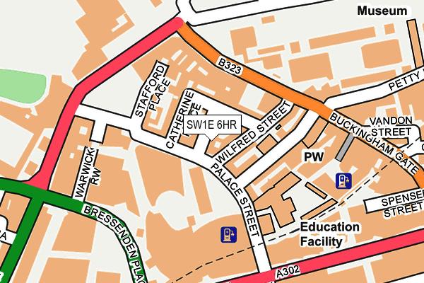 SW1E 6HR map - OS OpenMap – Local (Ordnance Survey)