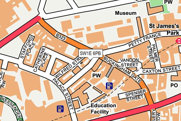 SW1E 6PB map - OS OpenMap – Local (Ordnance Survey)