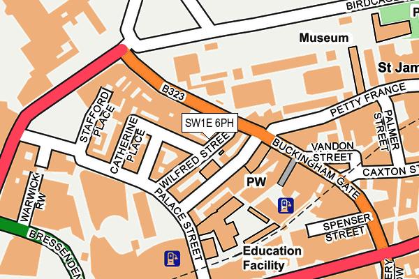 SW1E 6PH map - OS OpenMap – Local (Ordnance Survey)