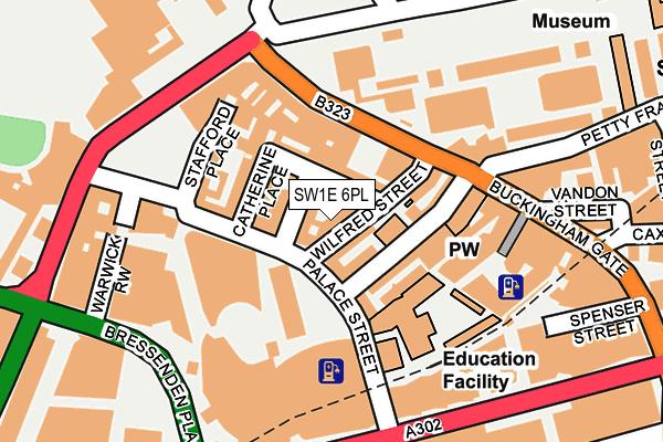 SW1E 6PL map - OS OpenMap – Local (Ordnance Survey)