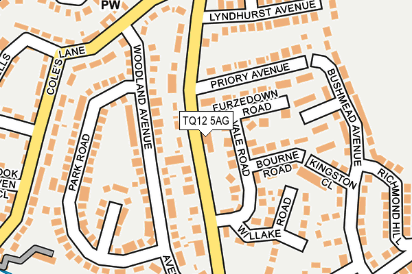 Map of KALI MA DESIGNS LIMITED at local scale