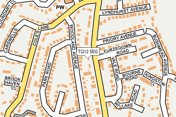 Map of THE SANDY PARK INN LIMITED at local scale