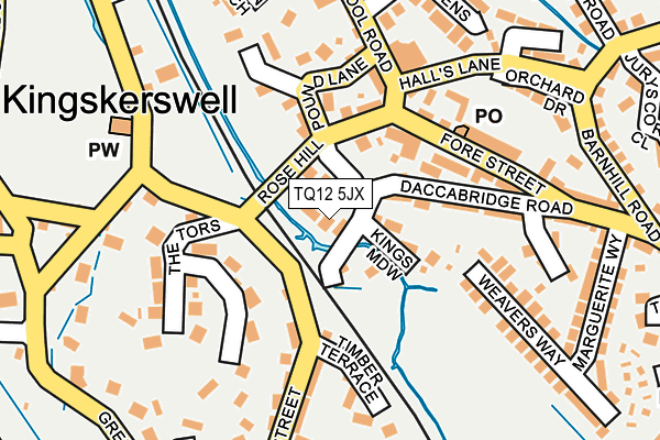 Map of LUNARMILL LIMITED at local scale