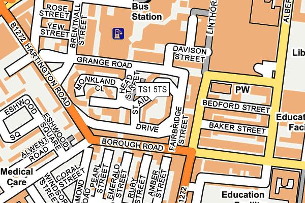 ts1 5ts maps