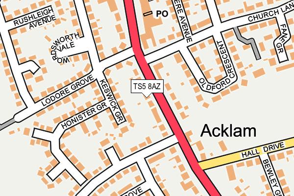 Ts5 8az Maps Stats And Open Data