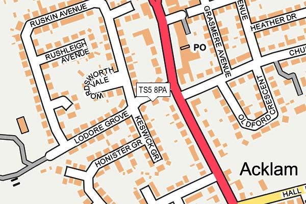 Ts5 8pa Maps Stats And Open Data