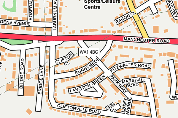 Map of J M D ELECTRICAL NORTH WEST LTD at local scale