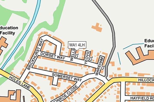 WA1 4LH map - OS OpenMap – Local (Ordnance Survey)