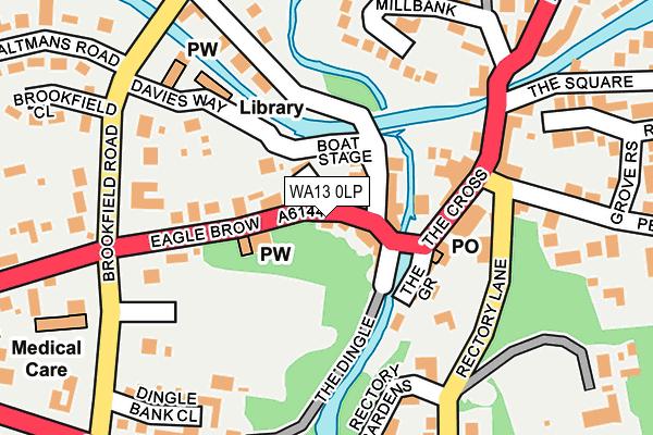 WA13 0LP map - OS OpenMap – Local (Ordnance Survey)