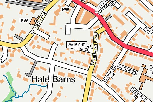 WA15 0HP maps, stats, and open data