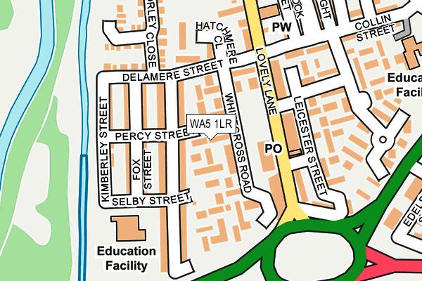WA5 1LR map - OS OpenMap – Local (Ordnance Survey)