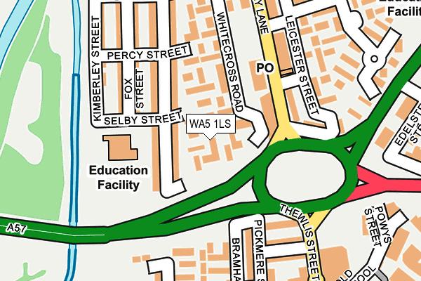 WA5 1LS map - OS OpenMap – Local (Ordnance Survey)