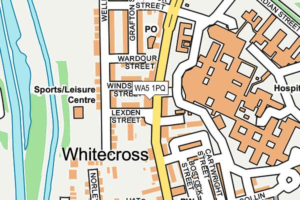 WA5 1PQ map - OS OpenMap – Local (Ordnance Survey)