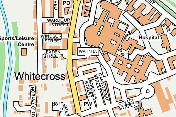 WA5 1UA map - OS OpenMap – Local (Ordnance Survey)