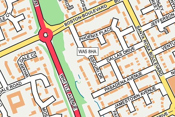 Map of SAVOY PLUMBING HEATING AND GAS LTD at local scale