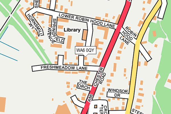 Map of JAB INSPECTION & ENGINEERING SERVICES LTD at local scale