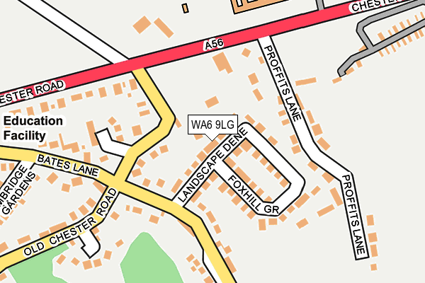Map of TOLERENCE ENGINEERING LIMITED at local scale