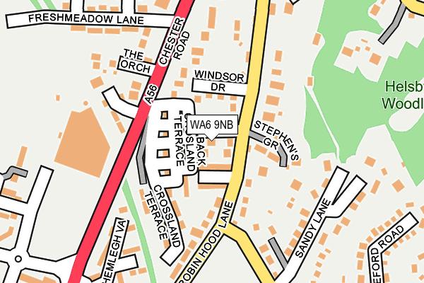 Map of DARE TO DREAM WEDDING & EVENT DESIGN LTD at local scale