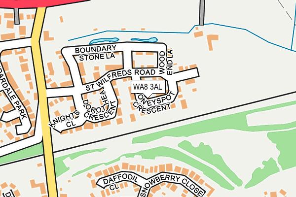 WA8 3AL map - OS OpenMap – Local (Ordnance Survey)