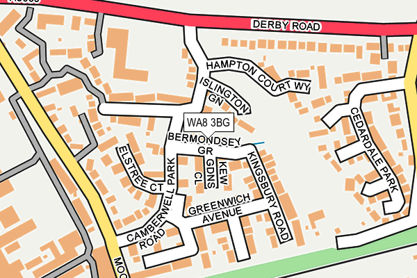 Map of FLG CONSULTANCY LTD at local scale