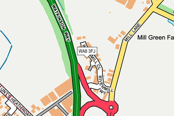 Map of MILLIES MEDICS LTD at local scale