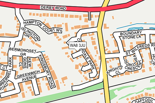 Map of MJH FINANCE LTD at local scale