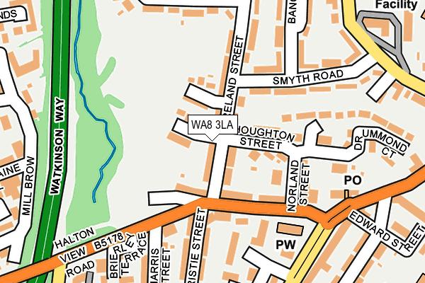 WA8 3LA map - OS OpenMap – Local (Ordnance Survey)