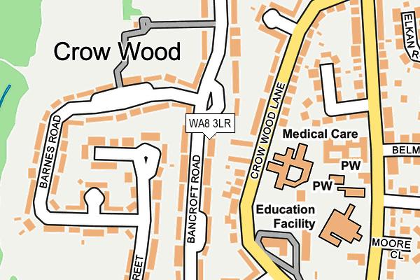 WA8 3LR map - OS OpenMap – Local (Ordnance Survey)