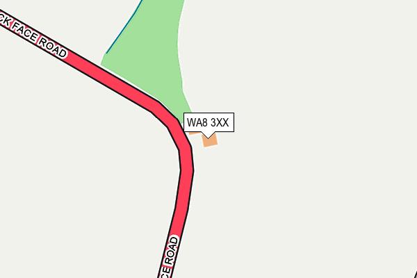 WA8 3XX map - OS OpenMap – Local (Ordnance Survey)