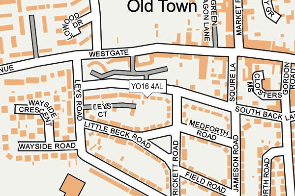 YO16 4AL maps, stats, and open data