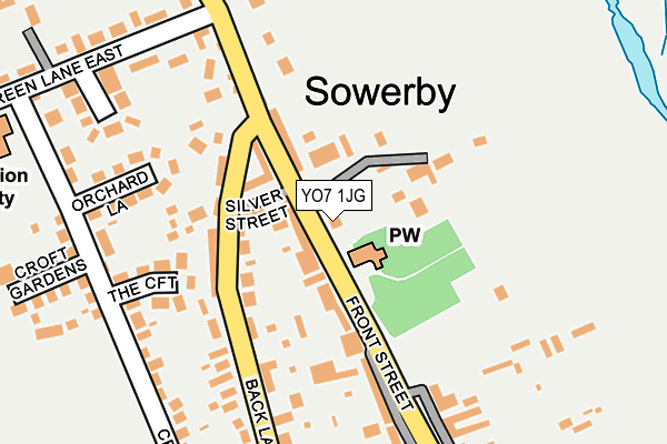 Map of MOWBRAY ASSOCIATES LIMITED at local scale