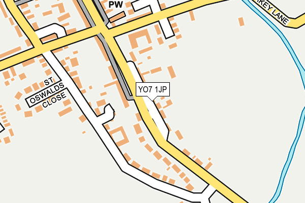 Map of ST JAMES PROPERTY MANAGEMENT LTD at local scale
