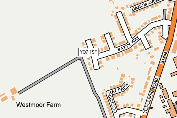 Map of DAVID BARKER HEATING AND PLUMBING LTD at local scale